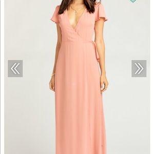 Show Me Your MuMu Sophia Wrap Dress, Medium